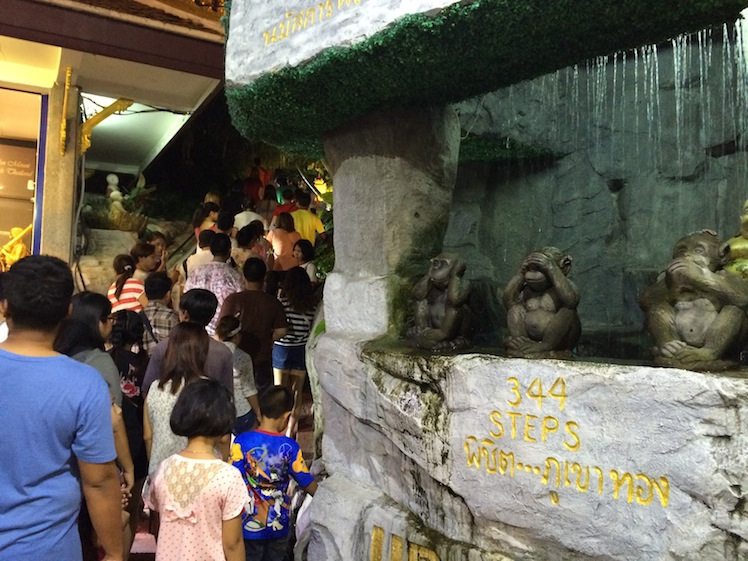 wat saket temple fair