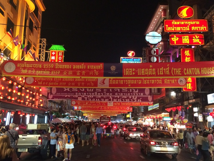 china town bangkok chinese new year 2016