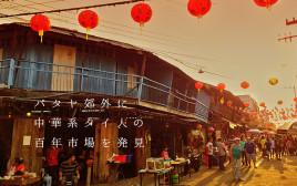 パタヤ郊外に中華系タイ人が作り上げた百年市場を発見!