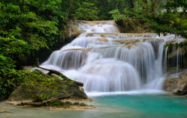 Photogenic Thailand Erawan Waterfall