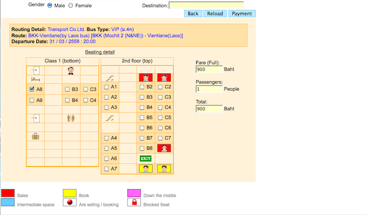thai ticket major
