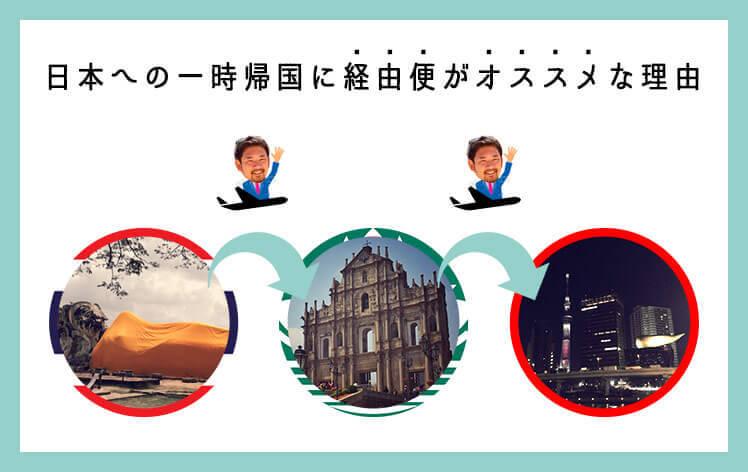 日本への一時帰国には、経由便がオススメな2つの理由 | YINDEED MAGAZINE