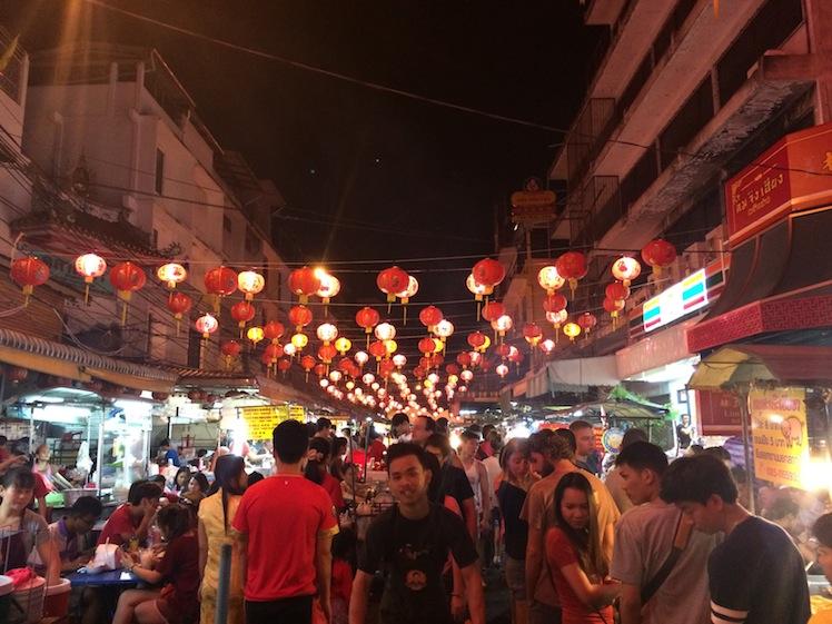 china town bangkok chinese new year 2016