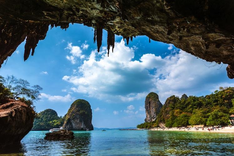 Paradise in Railay beach Thailand