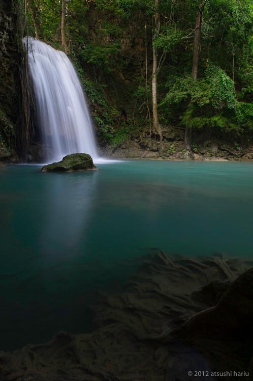 Photogenic Thailand Erawan Waterfall