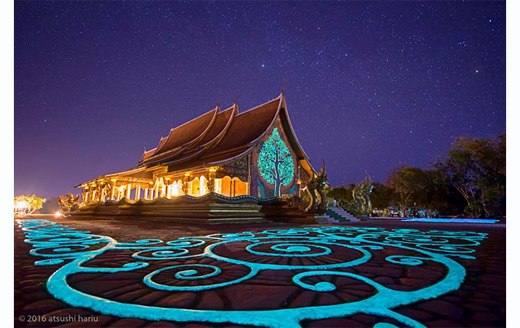 Photogenic Thailand wat Sirindhorn