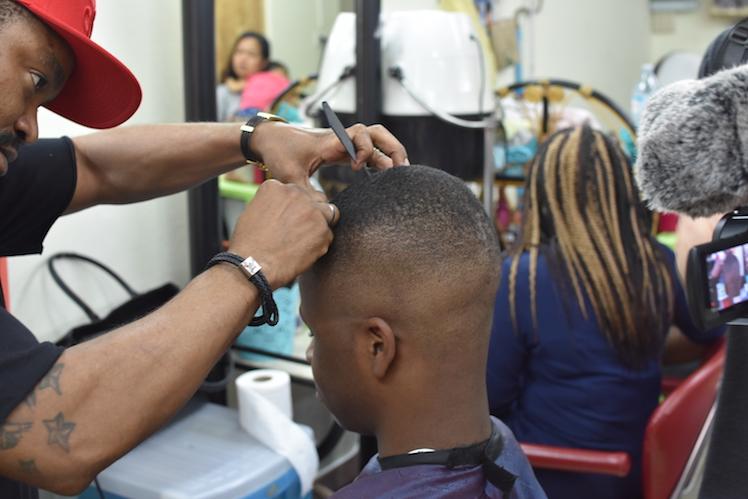 dayzero vol.1 african hair cut