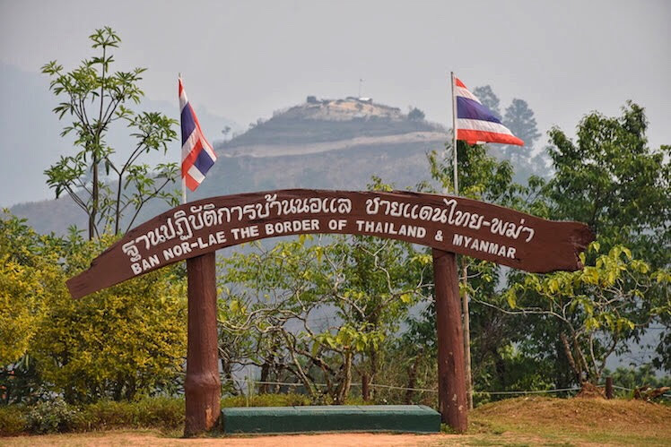 Ban Nor – Lae The Border of Thailand & Myanmar