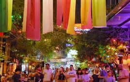 バンコク街歩き Vol.2 昔ながらの安宿街の風情が残る寺裏(ランブトリー通り)