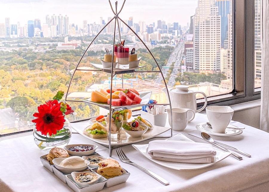 Crowne Plaza Bangkok Lumpini Park In-room High Tea 3-min